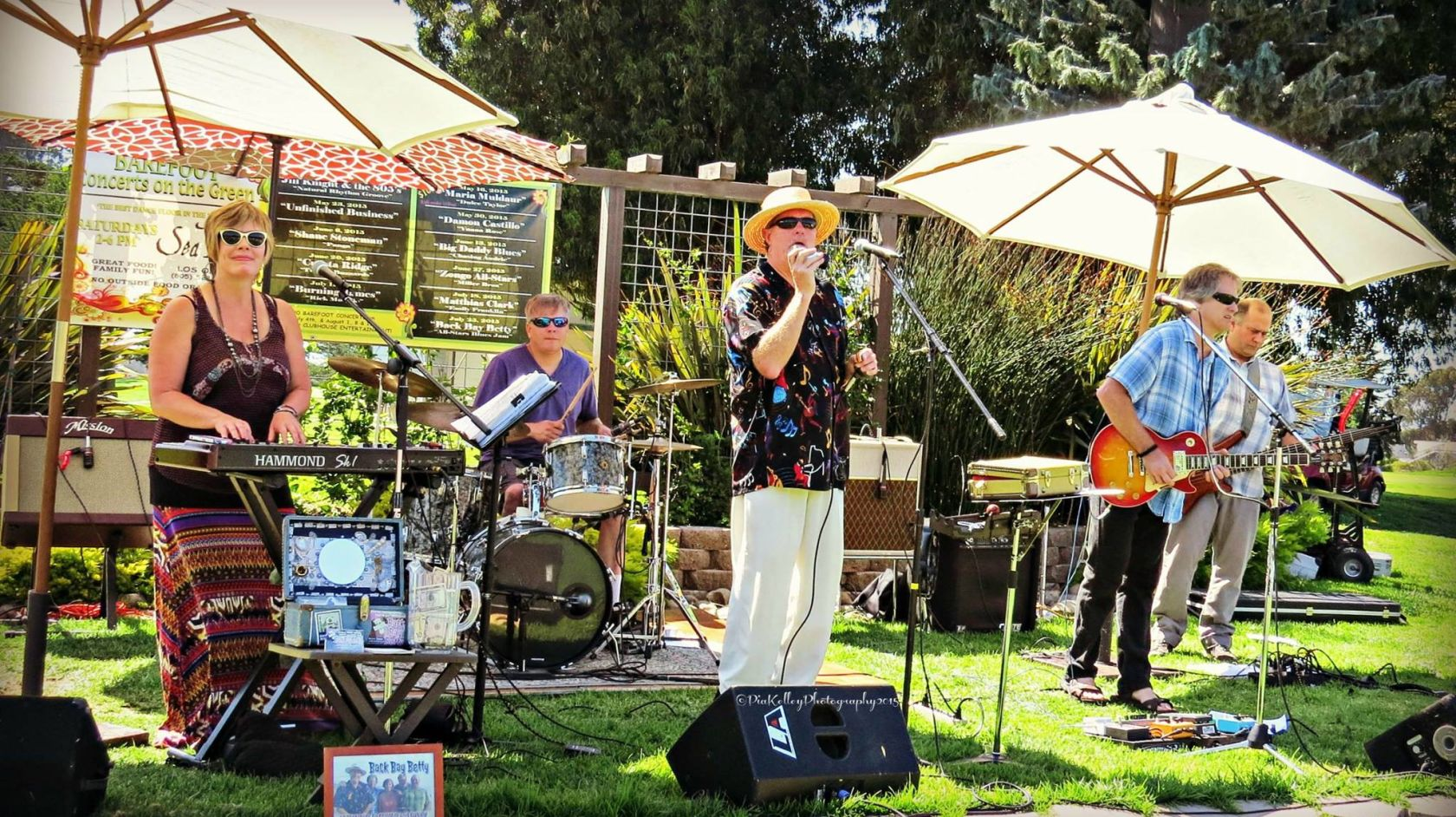 Live music at Sea Pines Golf Resort Barefoot Concerts on the Green series in Los Osos